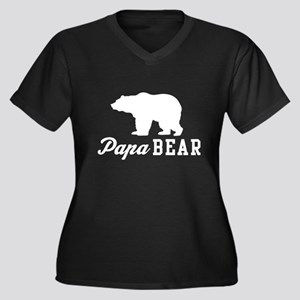 Papa bear Plus Size T-Shirt