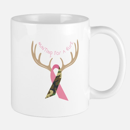Hunting For A Cure Mugs