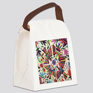 Otomi Birds Canvas Lunch Bag