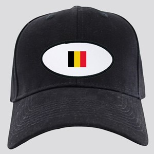 belgium flag Black Cap