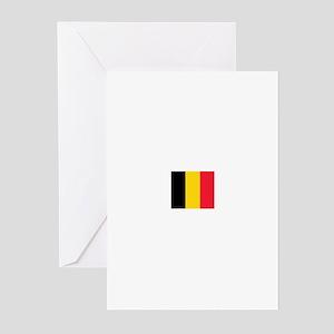 belgium flag Greeting Cards (Pk of 10)
