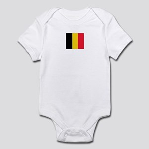 belgium flag Infant Bodysuit