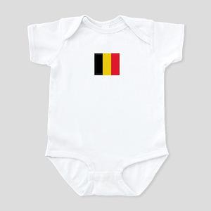 belgium flag Infant Bodysuit