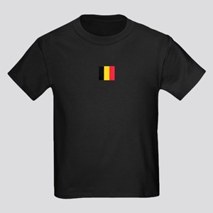 belgium flag Kids Dark T-Shirt