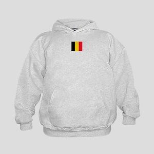 belgium flag Kids Hoodie
