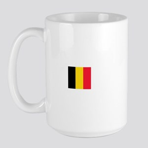 belgium flag Large Mug