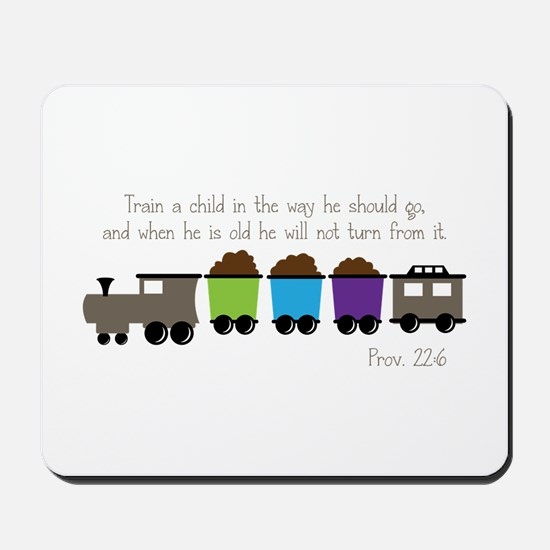 Train A Child Mousepad