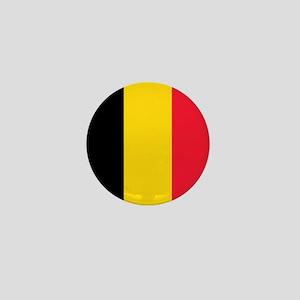 belgium flag Mini Button