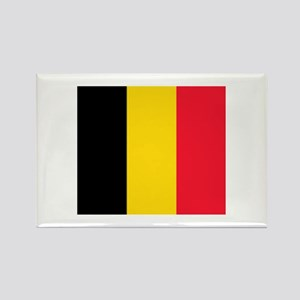 belgium flag Rectangle Magnet