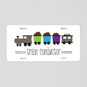 =Train Conductor= Aluminum License Plate