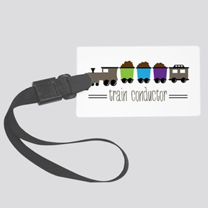 =Train Conductor= Luggage Tag