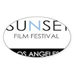 Sunset Film Festival Los Angeles Sticker