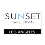 Sunset Film Festival Los Angeles Rectangle Car Mag