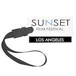 Sunset Film Festival Los Angeles Luggage Tag