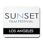 Sunset Film Festival Los Angeles Mousepad
