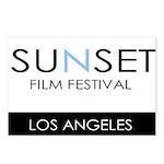 Sunset Film Festival Los Angeles Postcards (Packag