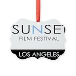 Sunset Film Festival Los Angeles Ornament