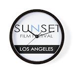 Sunset Film Festival Los Angeles Wall Clock