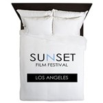 Sunset Film Festival Los Angeles Queen Duvet