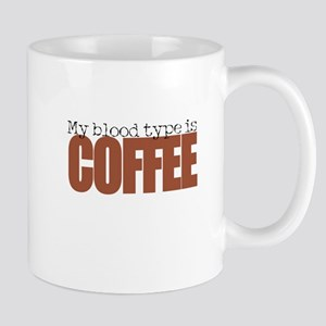 My blood type is Coffee Mugs