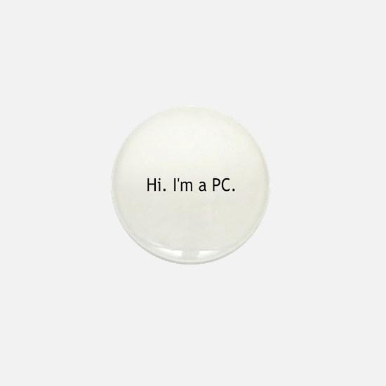 Hi I'm a PC Mini Button