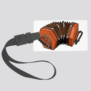 Beautiful Concertina Musical Ins Large Luggage Tag