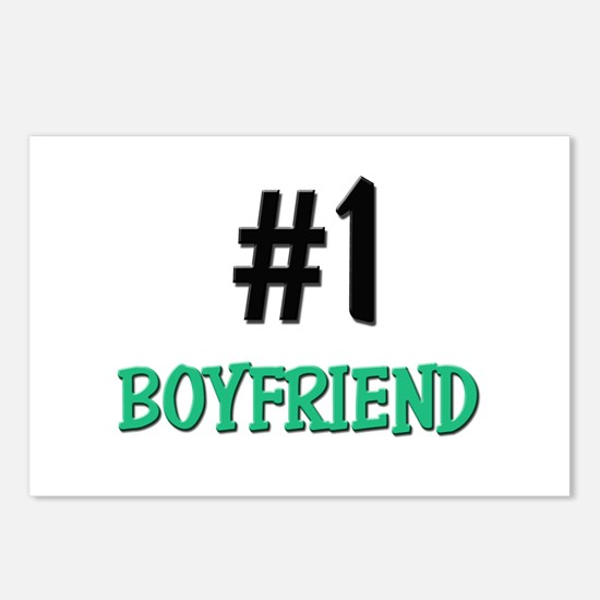 Number 1 BOYFRIEND Postcards (Package of 8)