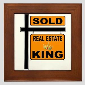 REALTOR KING Framed Tile