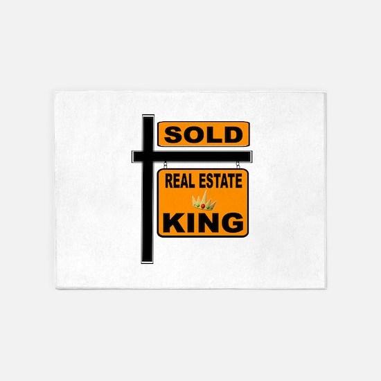 REALTOR KING 5'x7'Area Rug