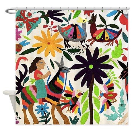 Otomi Ladies On Horses Shower Curtain By Admin CP74349838