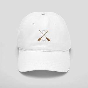 Crossed Canoe Paddles Baseball Cap