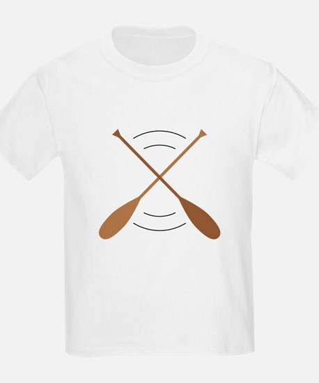 Crossed Canoe Paddles T-Shirt