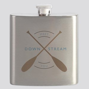 Meet you down stream Flask