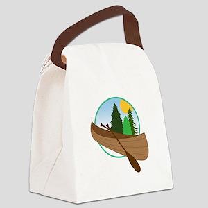 Canoe Logo Canvas Lunch Bag