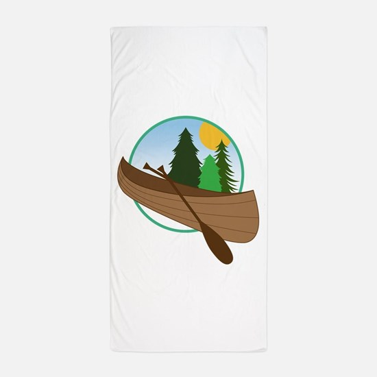 Canoe Logo Beach Towel