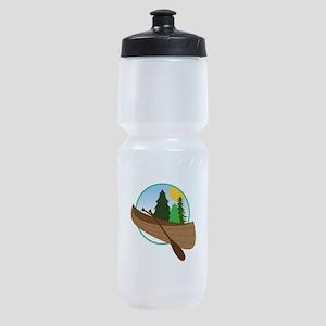 Canoe Logo Sports Bottle