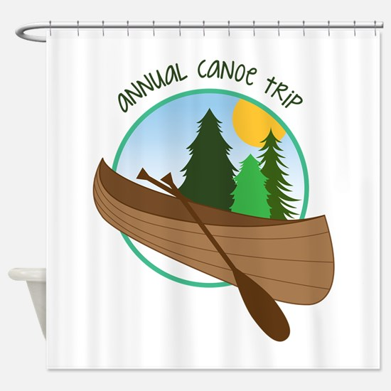 Annual Canoe Trip Shower Curtain