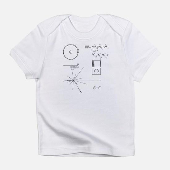 NASA Voyager Golden Record Infant T-Shirt