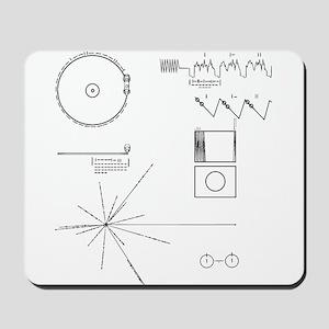 NASA Voyager Golden Record Mousepad