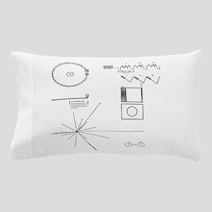 NASA Voyager Golden Record Pillow Case