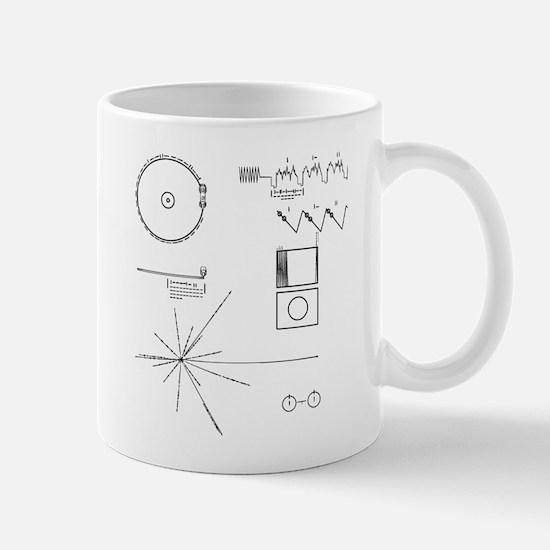 NASA Voyager Golden Record Mugs