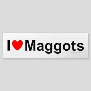 Maggots Sticker (Bumper)
