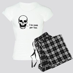 A Skull Lives Inside Your Face Pajamas