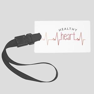 Healthy Heart Luggage Tag