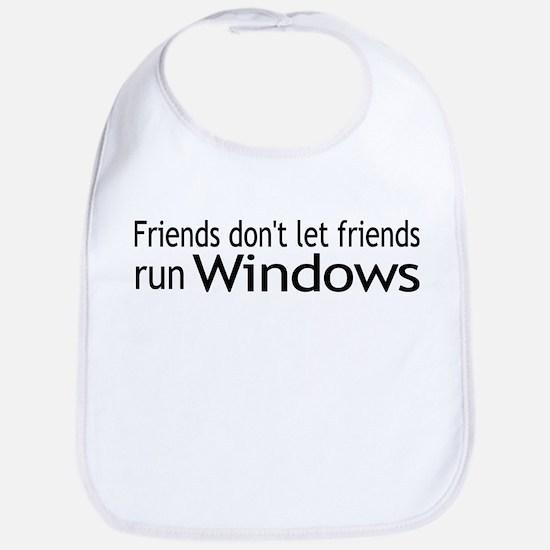 Friends Windows Bib