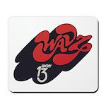 WAVZ New Haven '73 - Mousepad