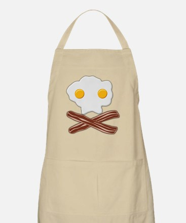 Eggs and Bacon Skull Light Apron