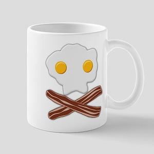 Eggs and Bacon Skull Mugs