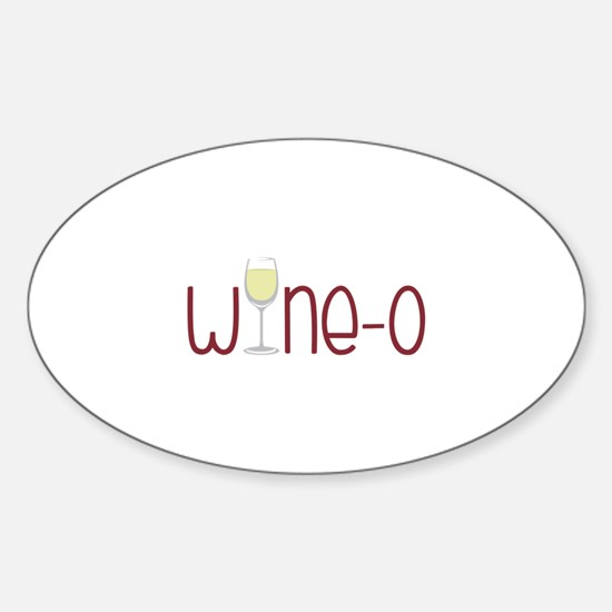 Wine-o Decal
