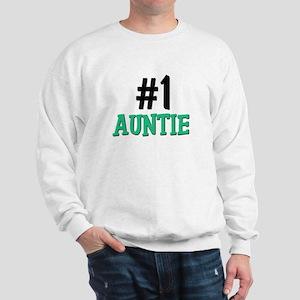 Number 1 AUNTIE Sweatshirt